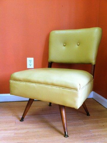 Mid Century Kroehler Swivel Lounge Chair Epoch