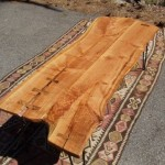 Cherry Slab Coffee Table