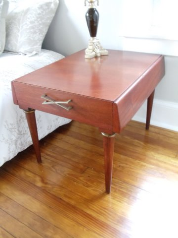 Mid Century End Tables American Of Martinsville At Epoch