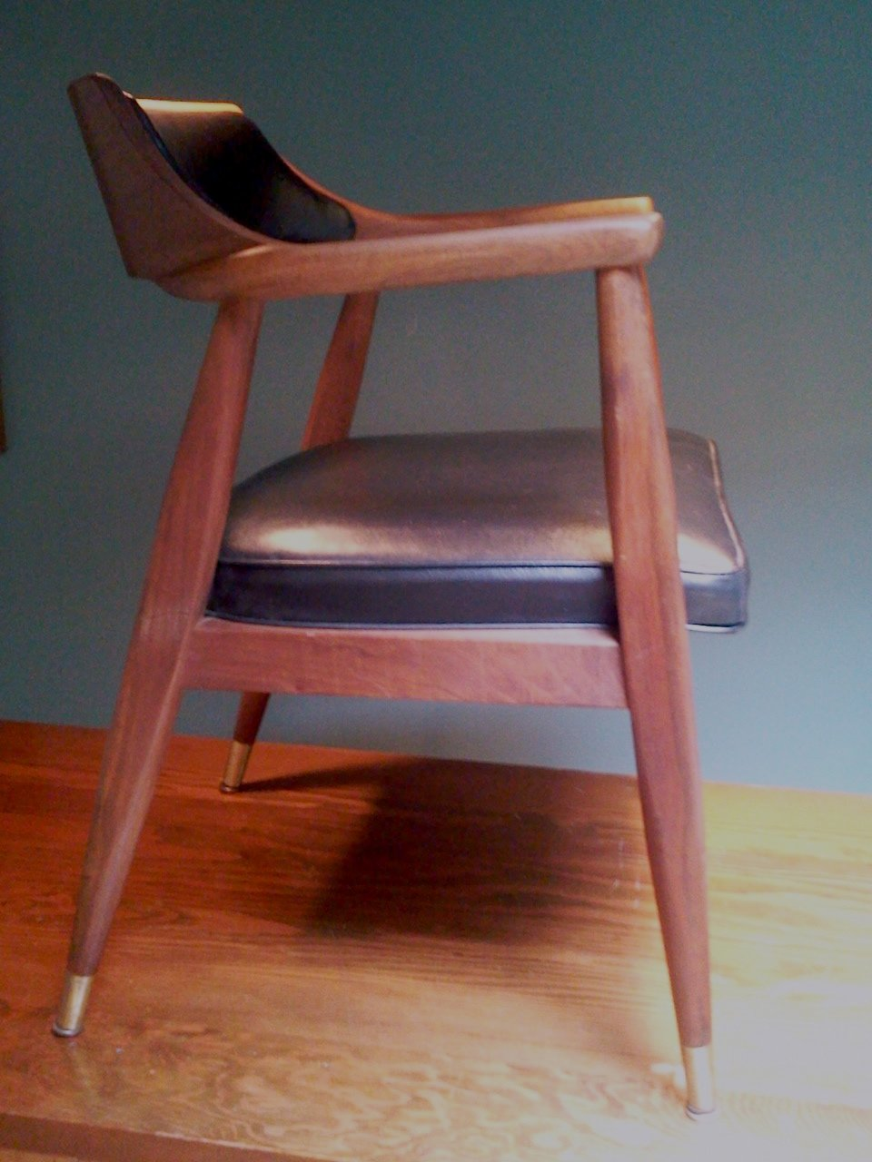 mid century desk chair. Mid Century Modern Walnut Office Chair Desk K
