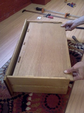remove drawer bottom