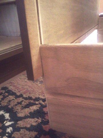 mid century modern dresser repair