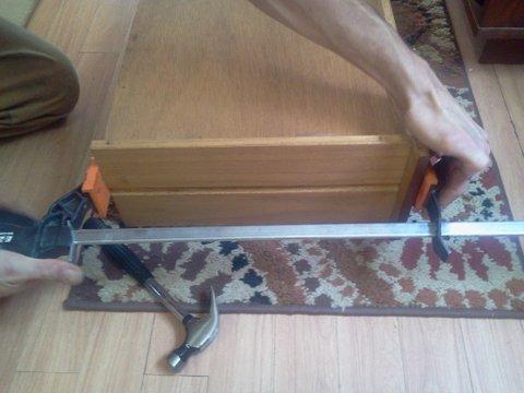 clamping drawer