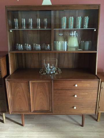 mid century modern china cabinet Declaration by Drexel