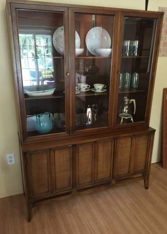 mid century china cabinet by american of