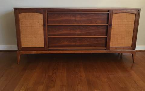 mid century modern credenza buffet collection lane am chicago for sale