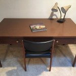 mid century modern desk or work table