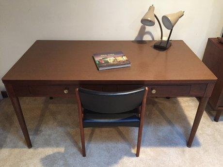 mid century modern desk or work table