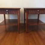 mid century modern circa '60 henredon end tables