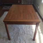 danish modern teak refractory dining table mid century modern design