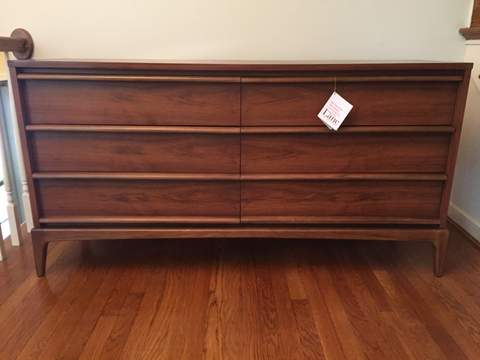 Mid Century Modern Double Dresser From The Lane Rhythm Collection