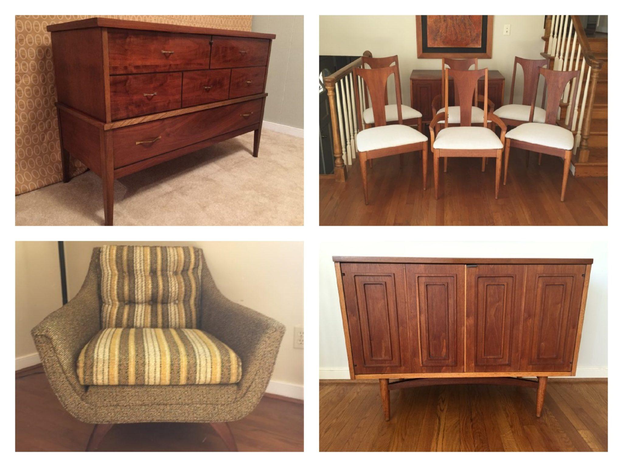 vintage mid century modern furniture store richmond va