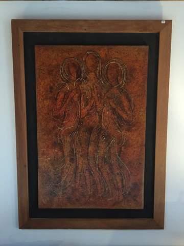 vintage-mid-century-modern-mixed-media-artwork-terracotta