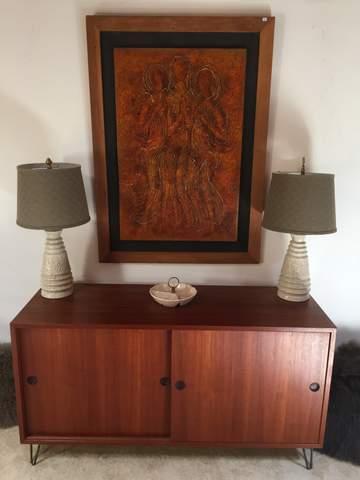 vintage-mid-century-modern-terracotta-mixed-media-art-teak-credenza-borge-mogensen