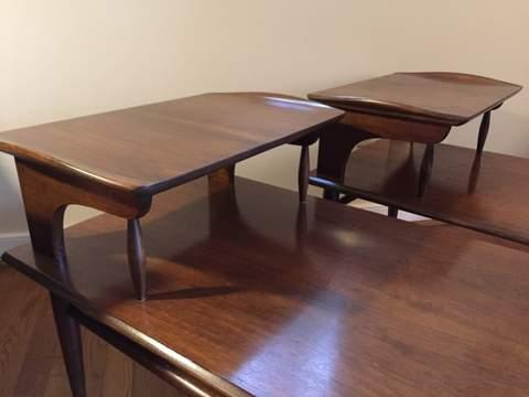 Mid Century Modern Side Tables Bassett Artisan Epoch