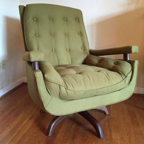 Mid century modern lounge chairs at epoch for Mid century modern upholstered chair