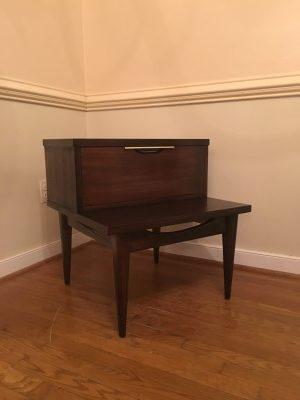 vintage mid century kent coffey tableau nightstand
