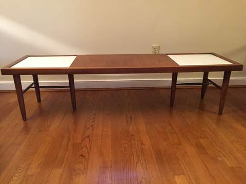mid century modern coffee table by American of Martinsville