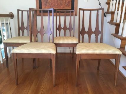 Mid Century Modern Broyhill Brasilia Dining Chairs Epoch