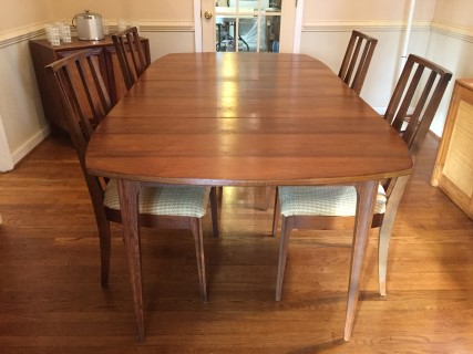 Mid century modern broyhill brasilia dining table epoch mid century modern broyhill brasilia dining table workwithnaturefo