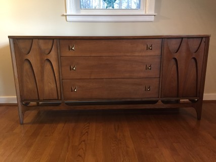 mid century modern credenza chicago teak for sale walnut in houston