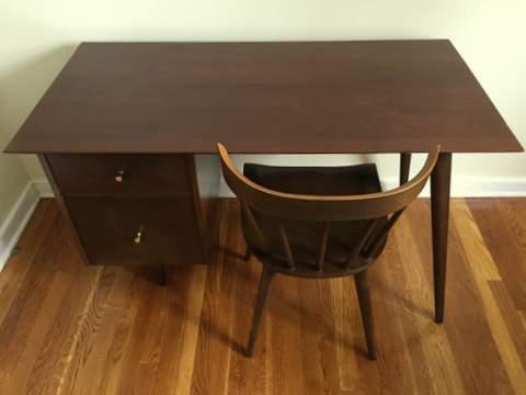Paul McCobb desk chair planner group winchendon furniture company