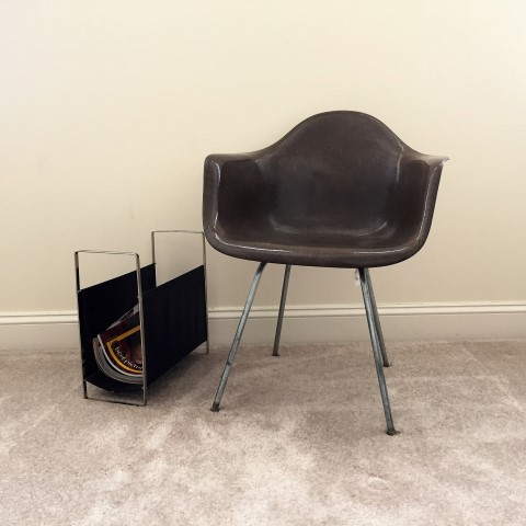 Mid Century Modern Shell Chair Model DAH By Eames For Herman Miller C.1959
