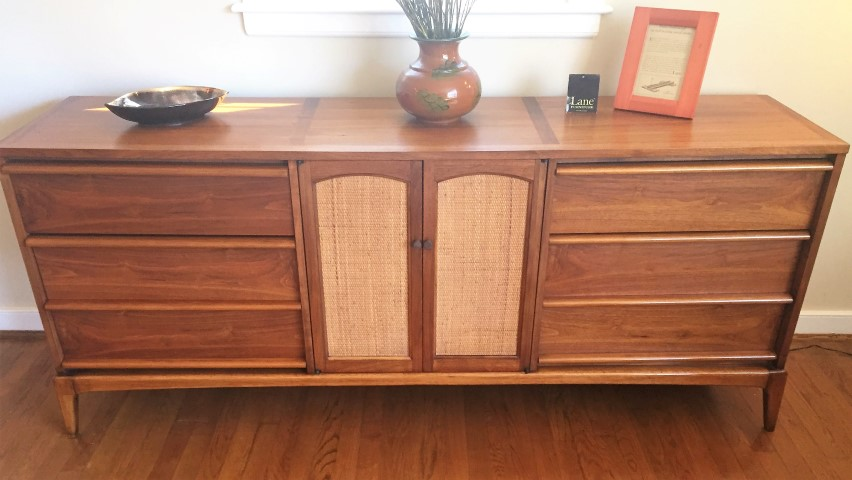 midcentury deal drawer acorn alert alpine modern furniture century finish mid brown in shop dresser