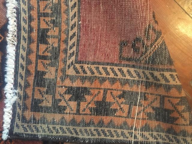 Vintage Persian Rug In Tribal Pattern Epoch