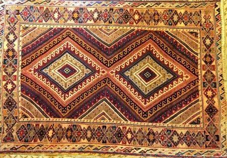 afghan mushwani hand knotted tribal rug