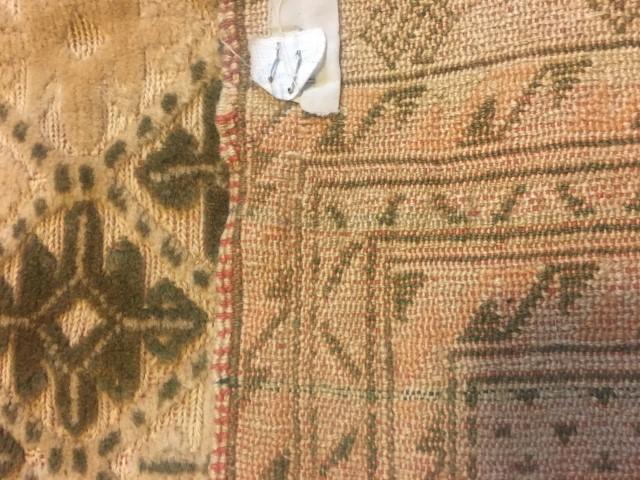 mushwani tribal rug 58 x 70