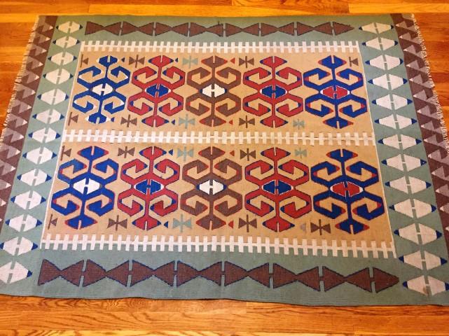 turkish kilim hand knotted rug carpet