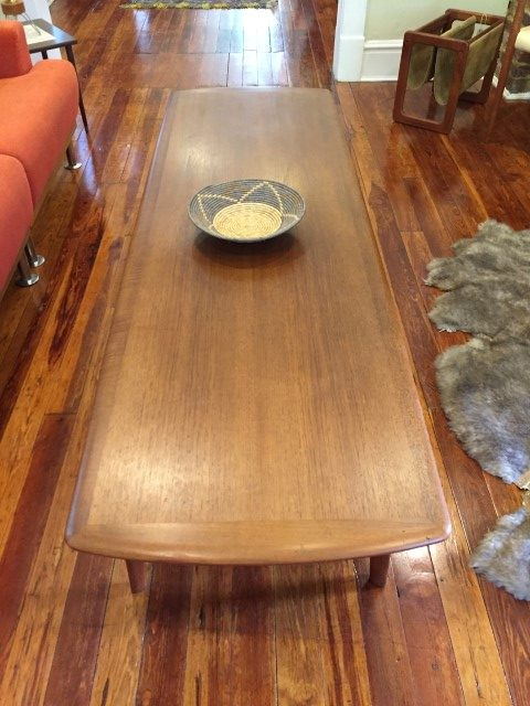 Danish Modern teak coffee table by Svend A. Larsen