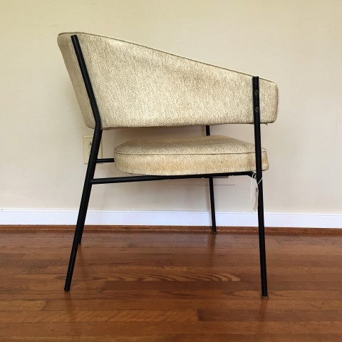 vintage-mid-century-modern-barrel-back-armchair-accent-side-chair