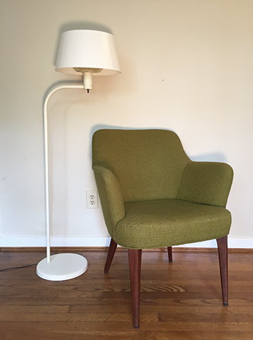 Mid Century Floor Lamp by Gerald Thurston for Lightolier - EPOCH