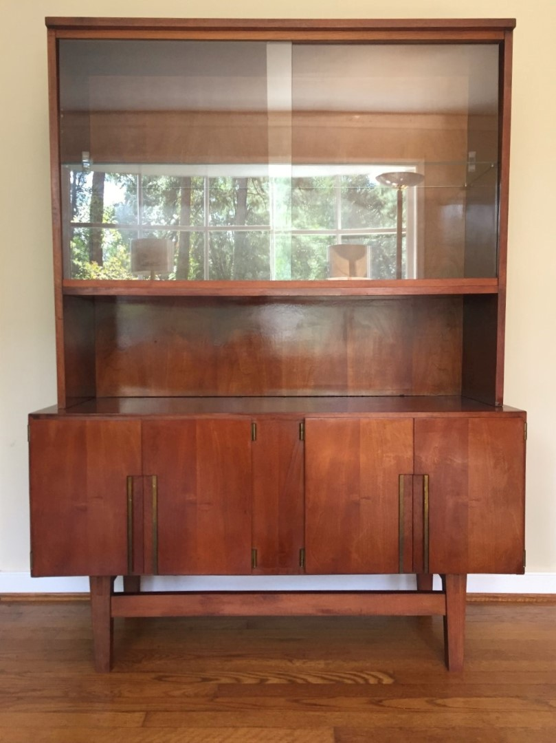 Super Mid Century Modern China, Liquor, Display, Storage Cabinet - EPOCH BA95