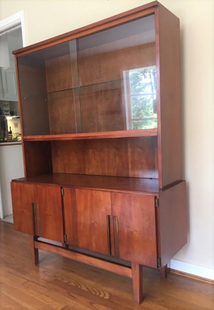 Mid Century Room Divider >> Mid Century Modern China, Liquor, Display, Storage Cabinet ...