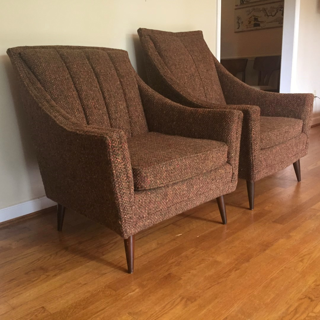 mid century modern upholstered dining chairs mid century modern pair of upholstered lounge chairs epoch 310