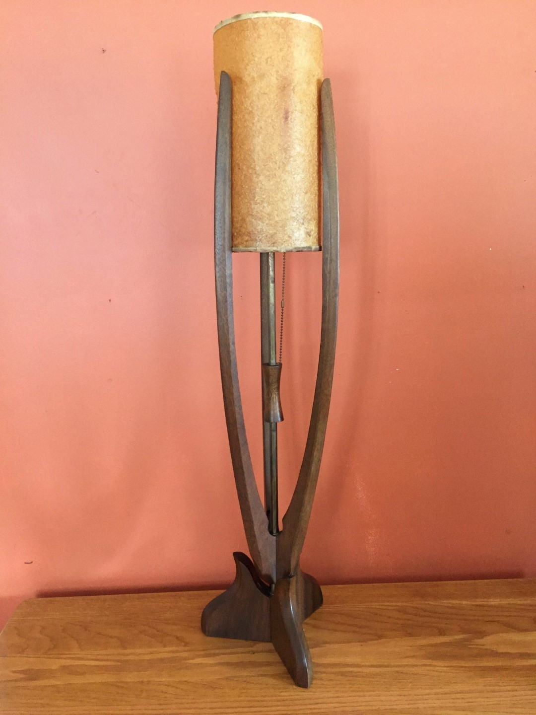 Mid Century Modern Vintage Sculptural Table Lamp