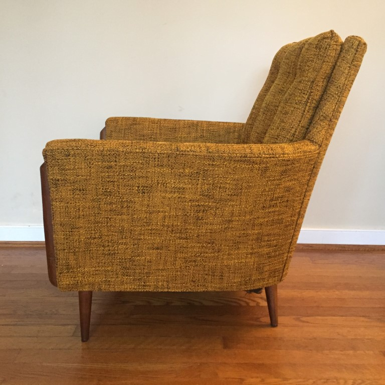 Vintage Mid Century Lounge Chair In The Style Of Adrian
