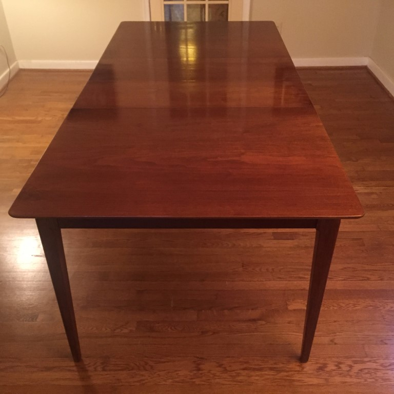 Vintage Mid Century Modern Dining Table By Drexel Projection