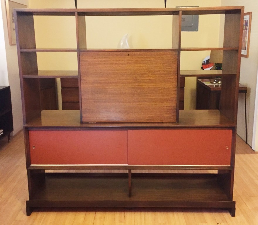 Mid Century Room Divider by Milo Baughman for Drexel