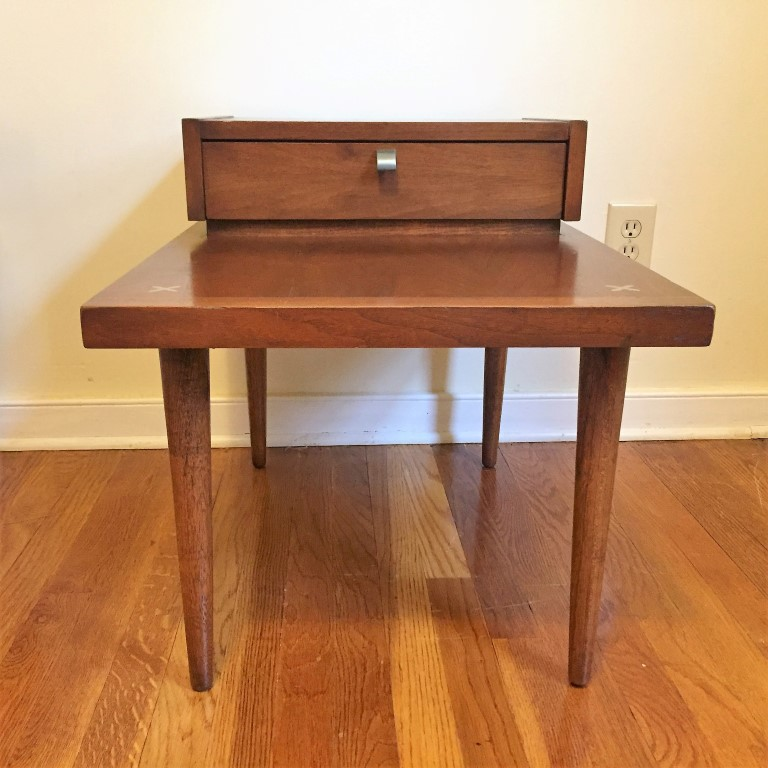 mid centurymodern american of martinsville tiered end tables