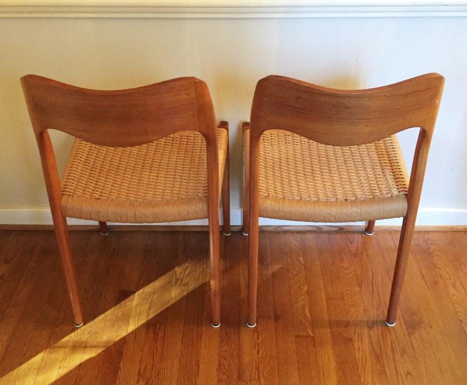 ... Vintage Danish Modern Dining Chair Niels Moller 71 ...
