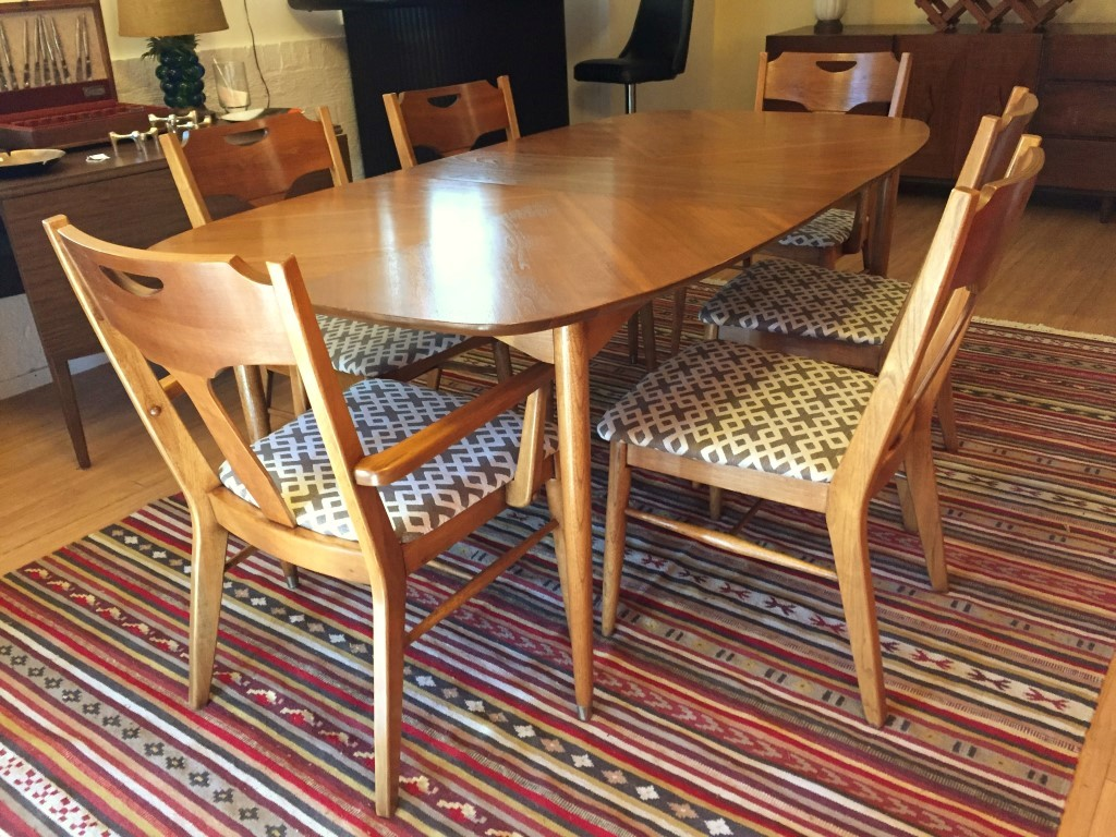 table mid folding chairs top dining century with modern teak danish chair and leaf