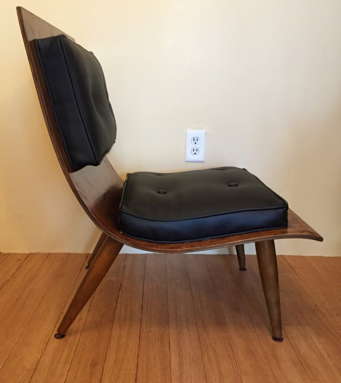 Original Bent Plywood Quot Scoop Chair Quot By Carter Brothers