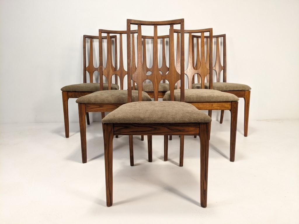 Mid Century Modern Dining Chair Set By Broyhill Brasilia Epoch